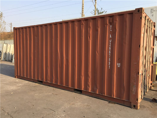 Chiny Steel Dry Used 20ft Container / Second Hand Storage Containers dostawca