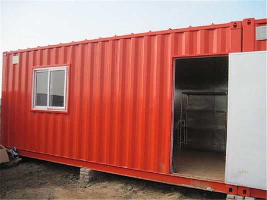 Chiny 20 Feet Single Container Home With Electrical System and Steel Shelf dostawca