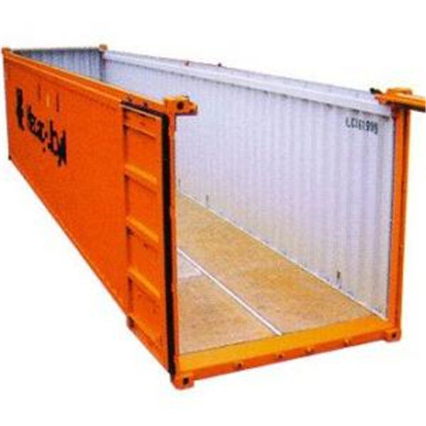 40 St 243 P Open Top Shipping Container Steel 12 03m 2 35m