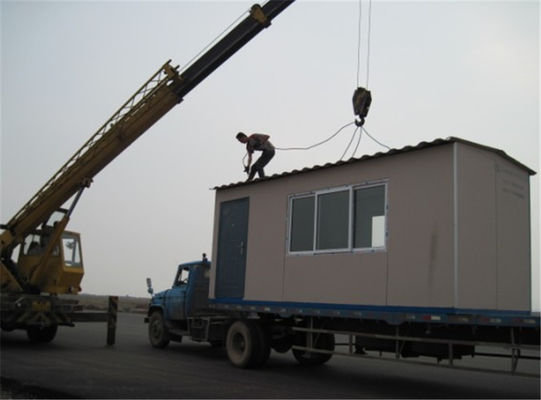 Chiny Somalia PKF Used Portable Metal Container Homes / 20ft Container House fabryka
