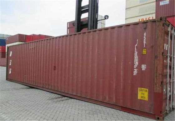 Chiny Multi Door High Cube Shipping Container / 45ft High Cube Container fabryka