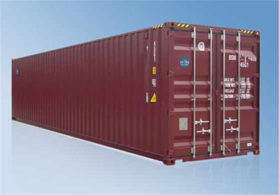 Chiny RED Old Used Shipping Containers For Sale Standard Transport fabryka